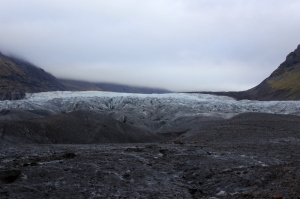 It's funny, I never thought of a glacier as being so dirty, but it made for an interesting composition.
